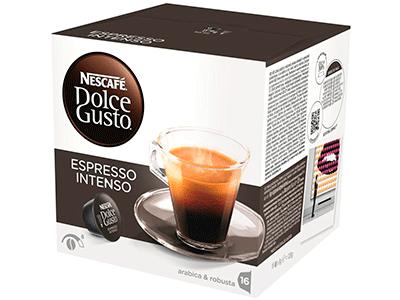 Nestle Capsulas Nestle Espresso Intenso 16 Ca - Capsula Cafe