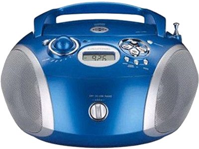 Grundig RCD 1445 USB BLUE/SILVER - Radio Cd