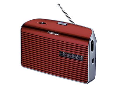 Grundig MUSIC 60 RED/SILVER - Transistor