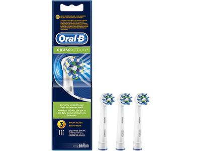 Braun EB 50-3 FFS CROSS ACTION - Recambio Cepillo Dental