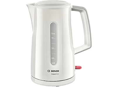 Bosch TWK3A011 - Hervidor 1.7l 2000w Blanco