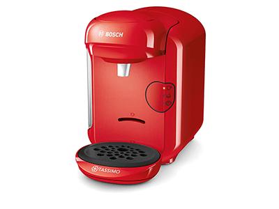 Bosch TAS1403 - Cafetera Capsulas Vivy 2 Just Red