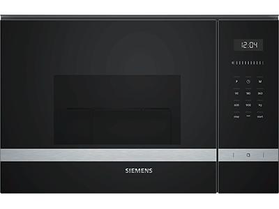 Siemens BE555LMS0 - Horno Microondas Integrable 25 Litros Con Grill Inox