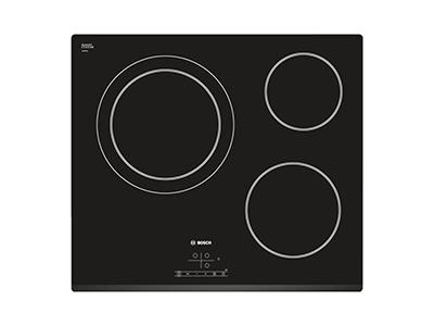Bosch PKK631B18E - Victroceramica Independiente Radiantes 3 Zonas Coccion Ancho 60 Cm