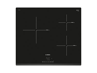 Bosch PUC631BB2E - Vitroceramica Induccion 3 Zonas Coccion Ancho 60 Cm