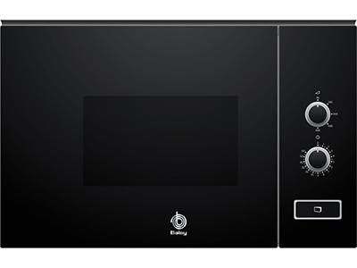 Balay 3CP5002N0 - Horno Microondas Integrable 20 Litros Sin Grill Cristal