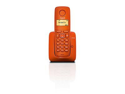 Siemens GIGASET A120 NARANJA - Telefono Sobremesa