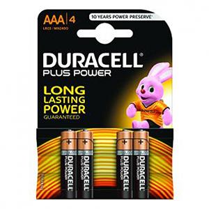 Duracell ALCALINA PLUS POWER AAA (LR03) K4 - Pila