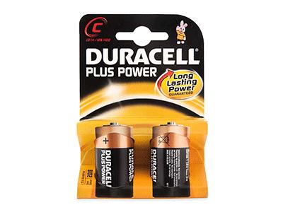 Duracell ALCALINA PLUS POWER C (LR14) K2 - Pila