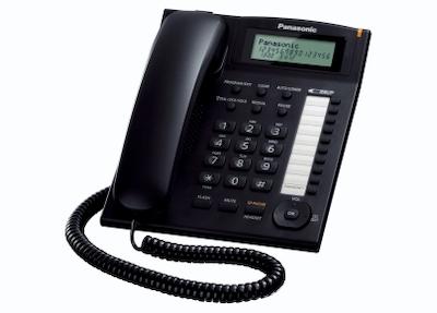 Panasonic KX-TS880EXB - Telefono Sobremesa