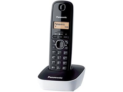 Panasonic KX-TG1611SPW - Telefono Sobremesa