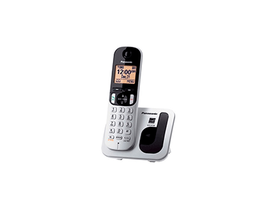 Panasonic KX-TGC210SPS - Telefono Sobremesa Gris-negro