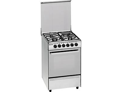 Meireles E 532 X - Cocina De Gas 3 Gas 1 Electrico Inox Gb