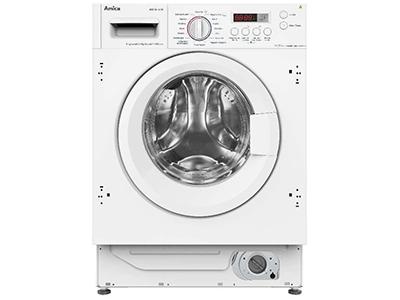 Amica AWD 86140 BI - Lavadora Secadora Integrable 8/6 Kg 1400 Rpm A