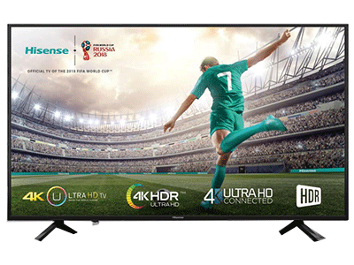 "Hisense 55A6100 - Televisor Led Smart Tv 55"" 4k"