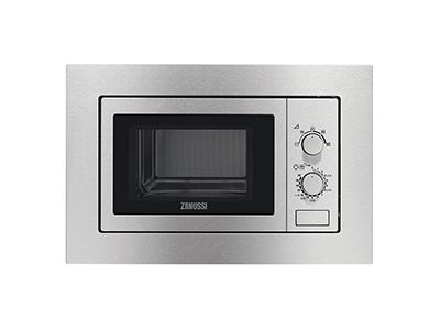Zanussi ZSM17100XA - Horno Microondas Integrable 17 Litros Sin Grill Inox