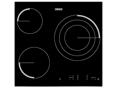 Zanussi Z6123IOK - Victroceramica Independiente 3 Zonas Coccion Ancho 60 Cm