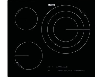 Zanussi ZIT6375CB - Vitroceramica Induccion 3 Zonas Coccion Ancho 60 Cm