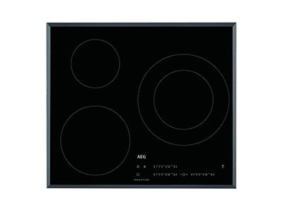 Aeg IKB63402FB - Vitroceramica Induccion 3 Zonas Coccion Ancho 60 Cm