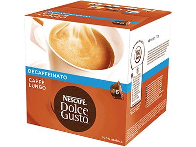 Nestle LUNGO DECAFFEINATO - Capsula Cafe