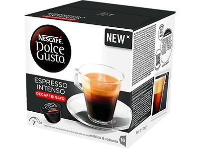 Nestle ESPRESSO INTENSO DESCAFEINADO - Capsula Cafe