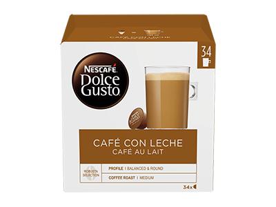Nestle CAFE C/LECHE 34CAP - Capsula Cafe