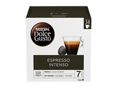 Nestle ESPRESSO INTENSO 34CAP - Capsula Cafe