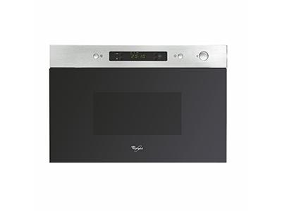 Whirlpool AMW 490 IX - Horno Microondas Integrable 22 Litros Sin Grill Inox
