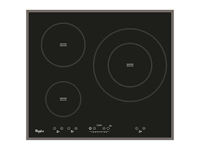 Whirlpool ACM 332/BA - Vitroceramica Induccion 3 Zonas Coccion Ancho 60 Cm