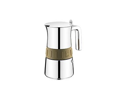 Bra A170561 - Cafetera Italiana 6 Tz. Elegance Gold