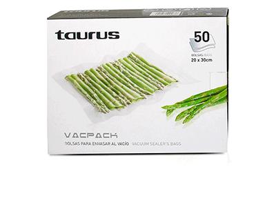 Taurus SET DE BOLSAS VACPACK 20X30 CM -