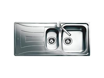 Teka UNIVERSO 1 1/2 C 1E DCHA - Fregadero De Cocina Acero 60 Cm 1 Cubeta 1 Escurridor