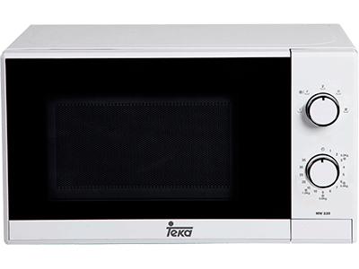 Teka MW 225 BLANCO - Horno Microondas Sin Grill 20 Litros Blanco