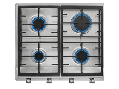 Teka EX 60.1 4G AI AL CI NAT - Encimera De Gas (e1) 4 Zonas Coccion Ancho 60 Cm