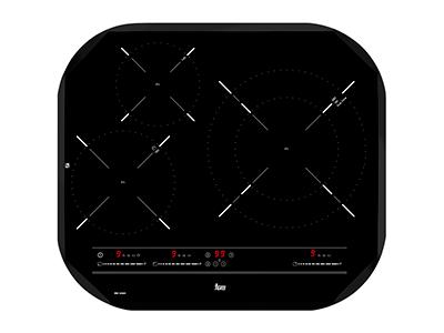 Teka IRC 6320 - Vitroceramica Induccion 3 Zonas Coccion Ancho 60 Cm