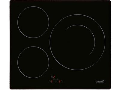 Cata IB 6021 BK - Vitroceramica Induccion 3 Zonas Coccion Ancho 60 Cm