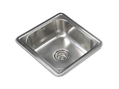 Cata CSS 1 - Fregadero De Cocina Acero 50 Cm 1 Cubeta 0 Escurridor