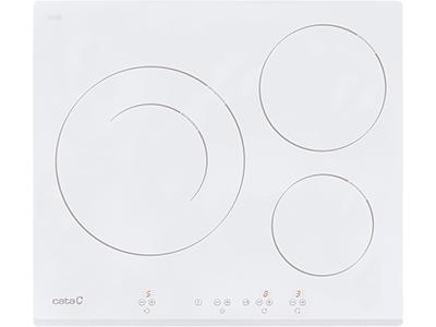 Cata IB 6030 WH - Vitroceramica Induccion 3 Zonas Coccion Ancho 60 Cm