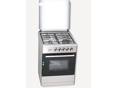 Rommer VCH 606 FG INOX NAT - Cocina De Gas 4 Zonas Coccion Inox