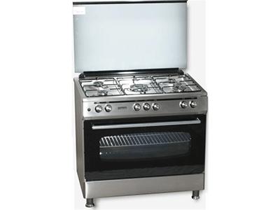 Rommer 965 GHE INOX BUT - Cocina De Gas 5 Zonas Coccion Inox