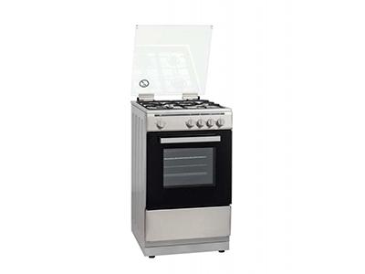 Rommer VCH-457 X NAT - Cocina De Gas 4 Zonas Coccion Inox