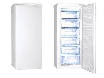 Rommer CV44 A+ - Congelador Vertical A+ Alto 144 Cm 163 Litros Blanco