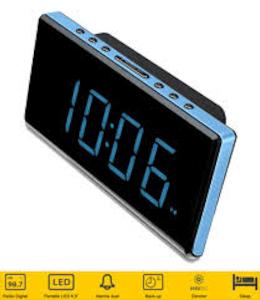 Sunstech FRD28BL - Radio Reloj