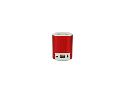 Sunstech SPUBT705RD - Altavoz Rojo