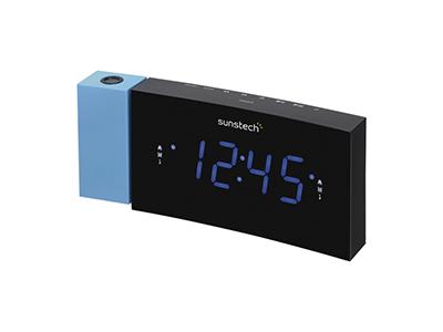 Sunstech FRDP3BL - Radio Reloj Conector Usb