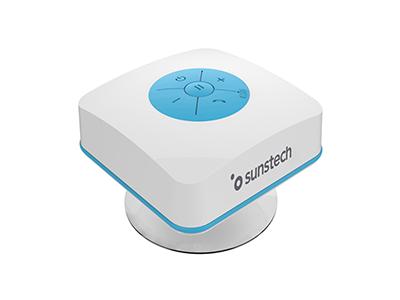 Sunstech SPBTSHOWERBL - Altavoz Bluetooth