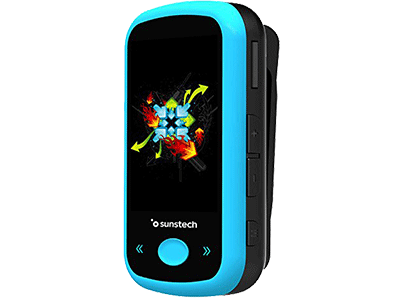 Sunstech IBIZABT8GBBL - Reproductor Mp4 8gb Azul Bluetooth