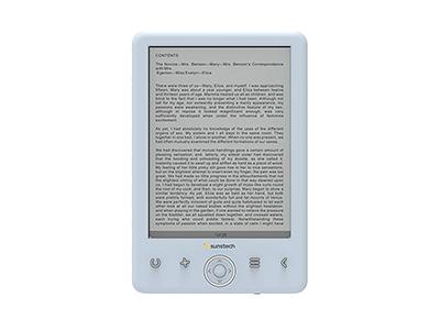 Sunstech EBI8LTOUCHBL - Libro Electronico -