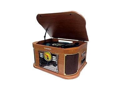 Sunstech PXRC52CDWD - Giradiscos Bluetooth