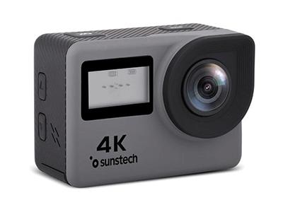 Sunstech ADRENALINE4KGY - Camara De Fotos Compacta
